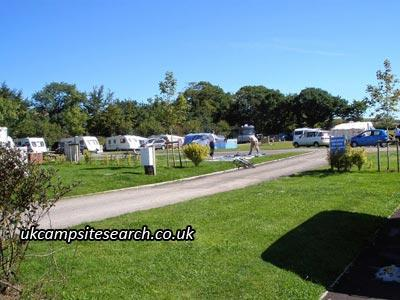 Riverside Caravan and Camping Park North Molton
