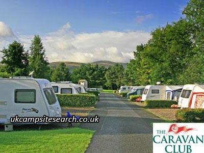 Brecon Beacons Caravan Club Site