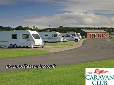 Burrs Country Park Caravan Club Site
