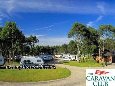 Clumber Park Caravan Club Site