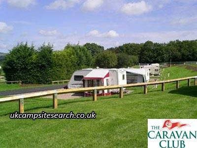 Exebridge Lakeside Caravan Club Site