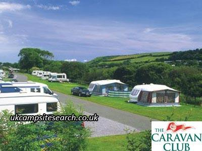 Freshwater East Caravan Club Site