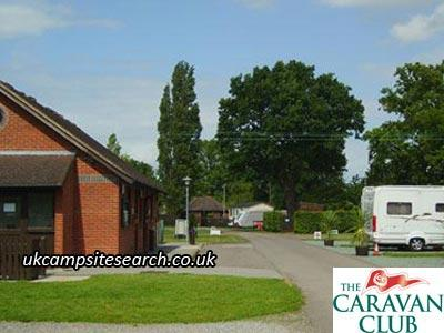Gatwick Caravan Club Site