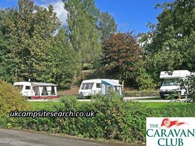 Hebden Bridge Caravan Club Site