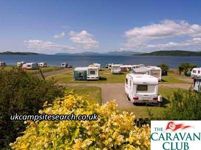 North Ledaig Caravan Club Site