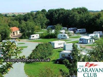 Scarborough West Ayton Caravan Club Site
