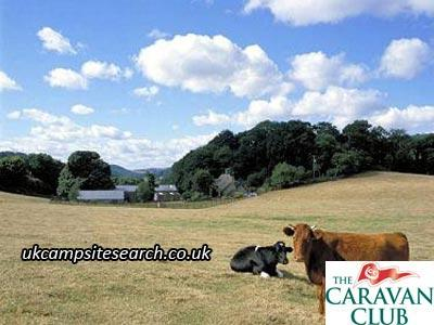 Stover Country Park Caravan Club Site