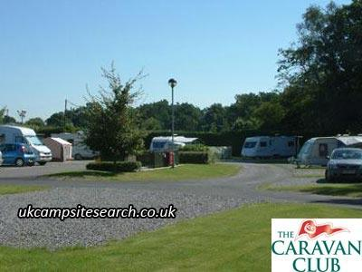 Wyatts Covert Caravan Club Site