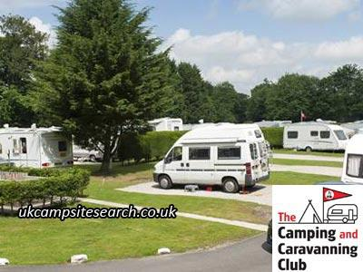 Braithwaite Fold Camping And Caravanning Club Site