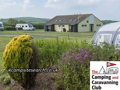 Bude Camping and Caravanning Club Site