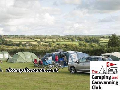 Cardigan Bay Camping and Caravanning Club Campsite