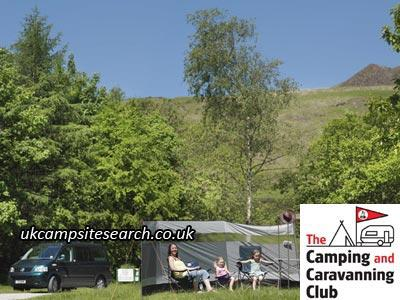Crowden Camping and Caravanning Club Campsite