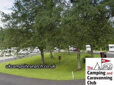 Derwentwater The Oval Camping and Caravanning Club Site