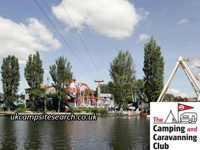 Drayton Manor Theme Park Camping And Caravanning Club Site