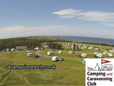 Dunbar Camping and Caravanning Club Site