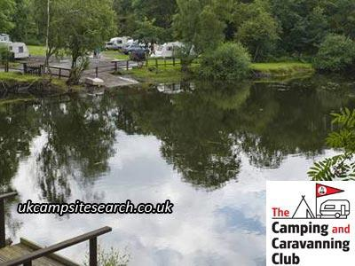 Ebury Hill Camping and Caravanning Club Campsite