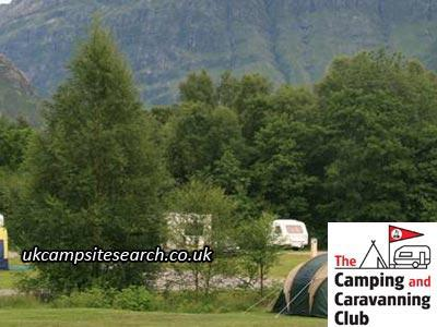 Glencoe Camping and Caravanning Club Campsite