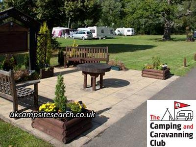 Hertford Camping and Caravanning Club Site