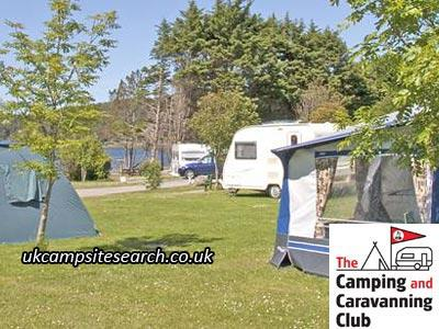 Inverewe Gardens Camping and Caravanning Club Site