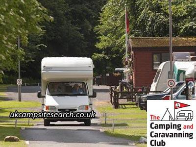 Jedburgh Camping and Caravanning Club Campsite