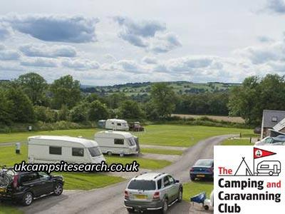 Leek Camping and Caravanning Club Campsite