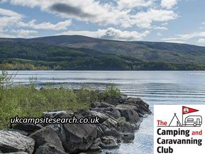 Luss Camping and Caravanning Club Campsite