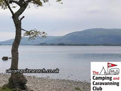 Milarrochy Bay Camping and Caravanning Club Campsite