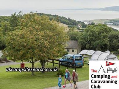 Minehead Camping and Caravanning Club Campsite