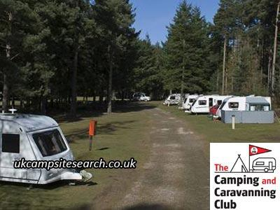 Nairn Camping and Caravanning Club Campsite