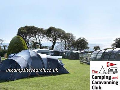 Slapton Sands Camping and Caravanning Club Campsite