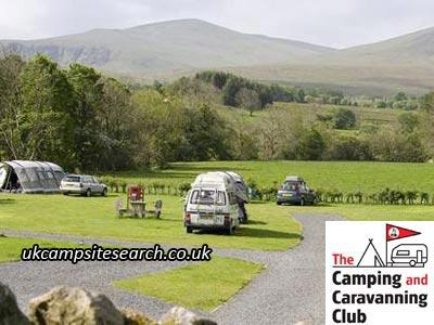 Troutbeck Camping and Caravanning Club Site