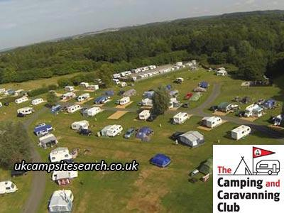 Verwood Camping and Caravanning Club Site